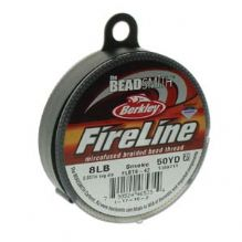 Fireline Beading Thread Smoke 8lb - 50 Yards